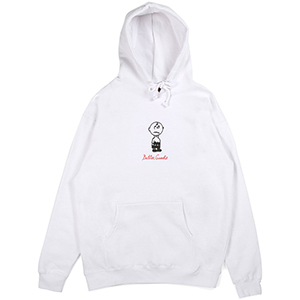 Butter Goods Trouble In Mind Hoodie White