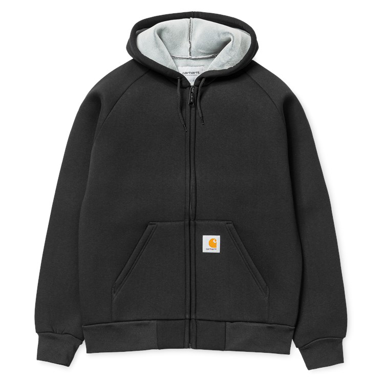 Carhartt Car Lux Hooded Jacket Black/Grey