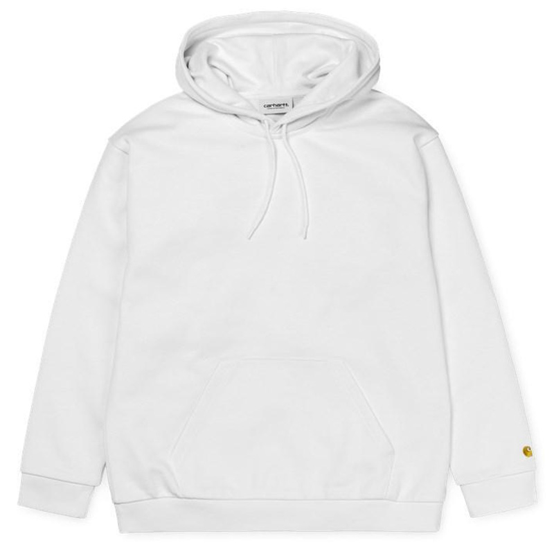 Carhartt WIP Chase Hoode White/Gold
