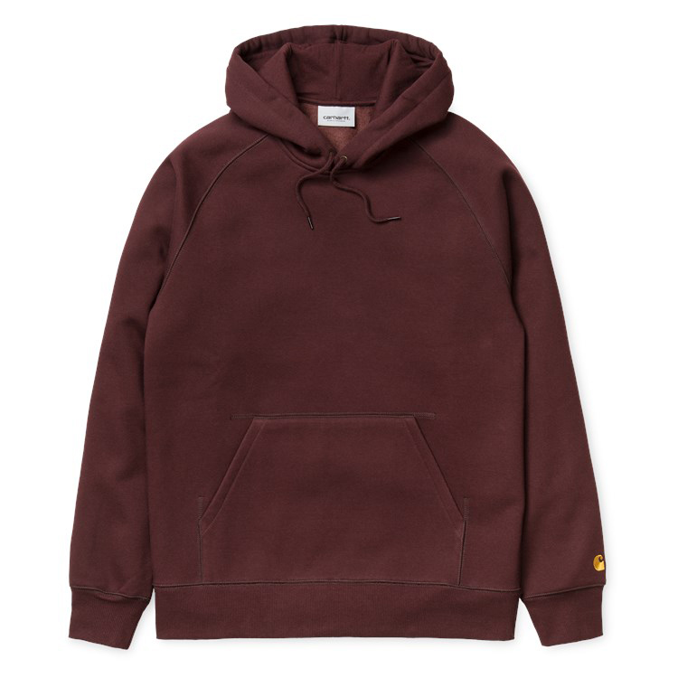 Carhartt Chase Hoodie Damson/Gold