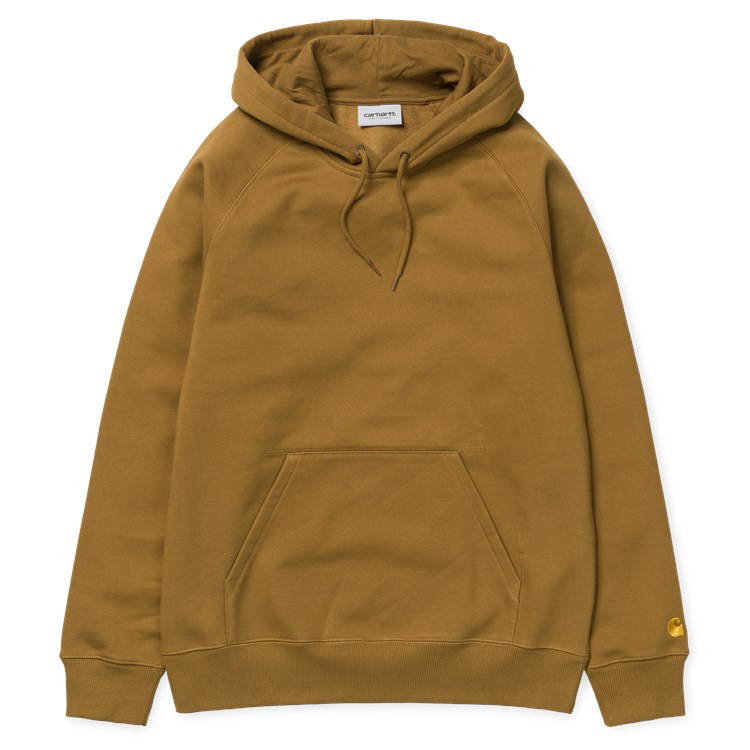 Carhartt Chase Hoodie Hamilton Brown/Gold