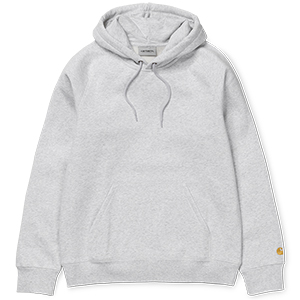 Carhartt Chase Hoodie Ash Heather/Gold