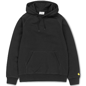 Carhartt Chase Hoodie Black/Gold