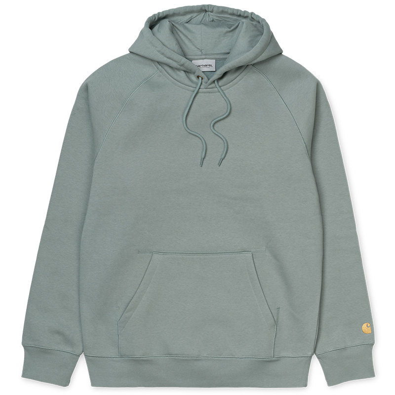 Carhartt WIP Chase Hoodie Cloudy/Gold