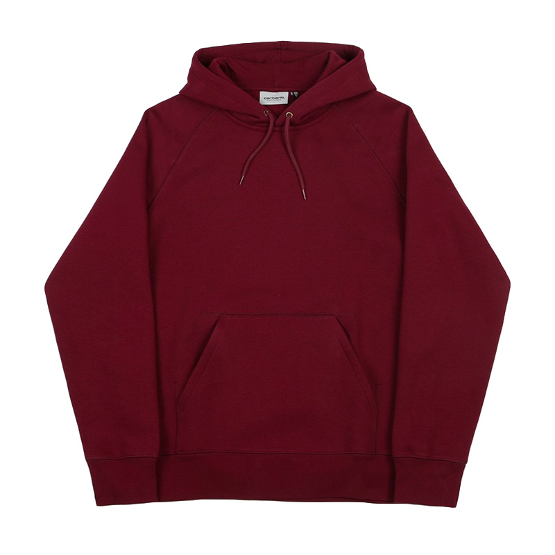 Carhartt Chase Hoodie Cranberry/Gold