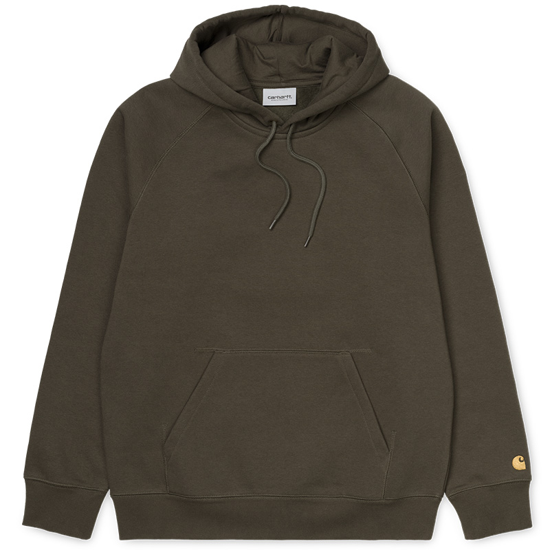 Carhartt WIP Chase Hoodie Cypress/Gold