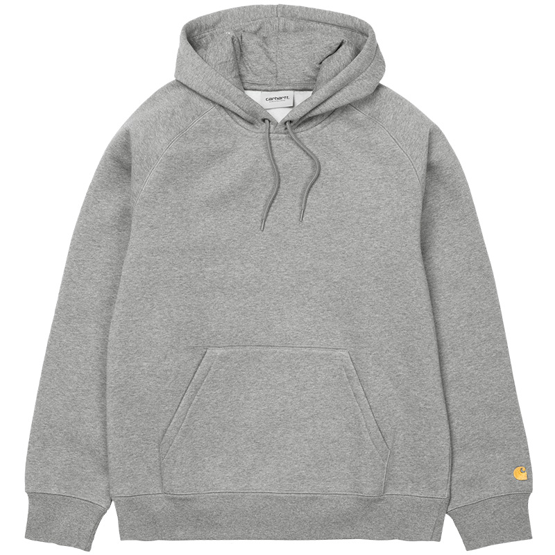 Carhartt Chase Hoodie Grey Heather/Gold