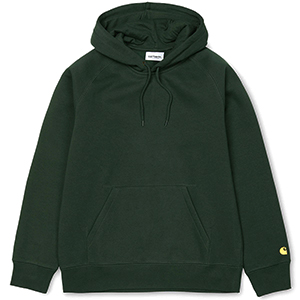 Carhartt Chase Hoodie Loden/Gold