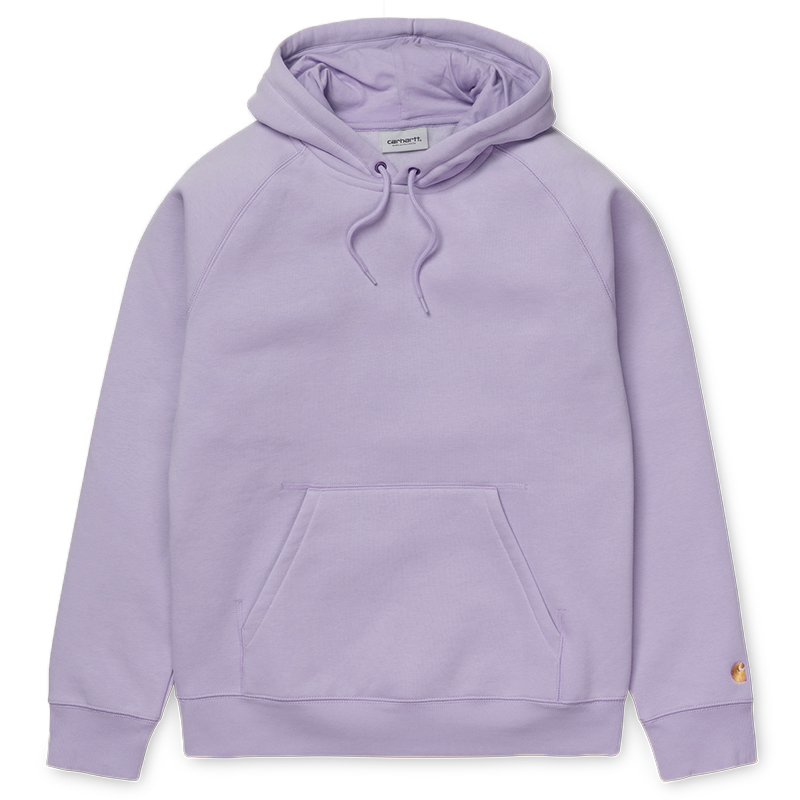 Carhartt Chase Hoodie Soft Lavender/Gold