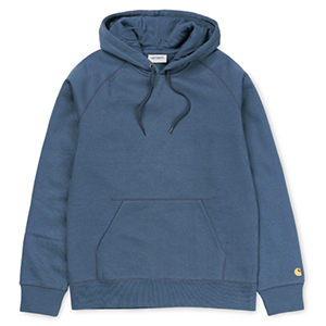 Carhartt Chase Hoodie Stone/Blue/Gold
