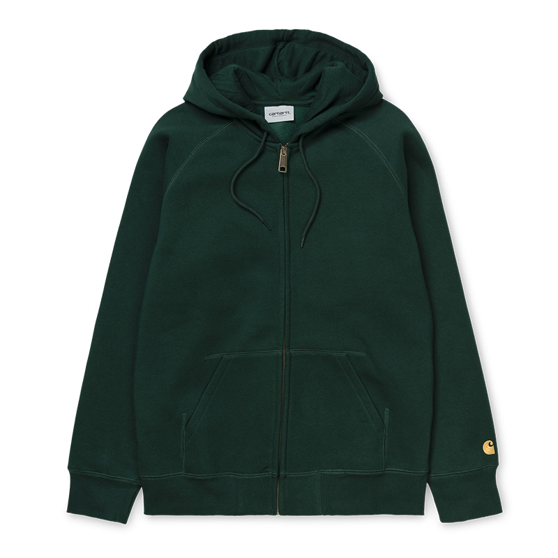 Carhartt Chase Jacket Bottle Green/Gold