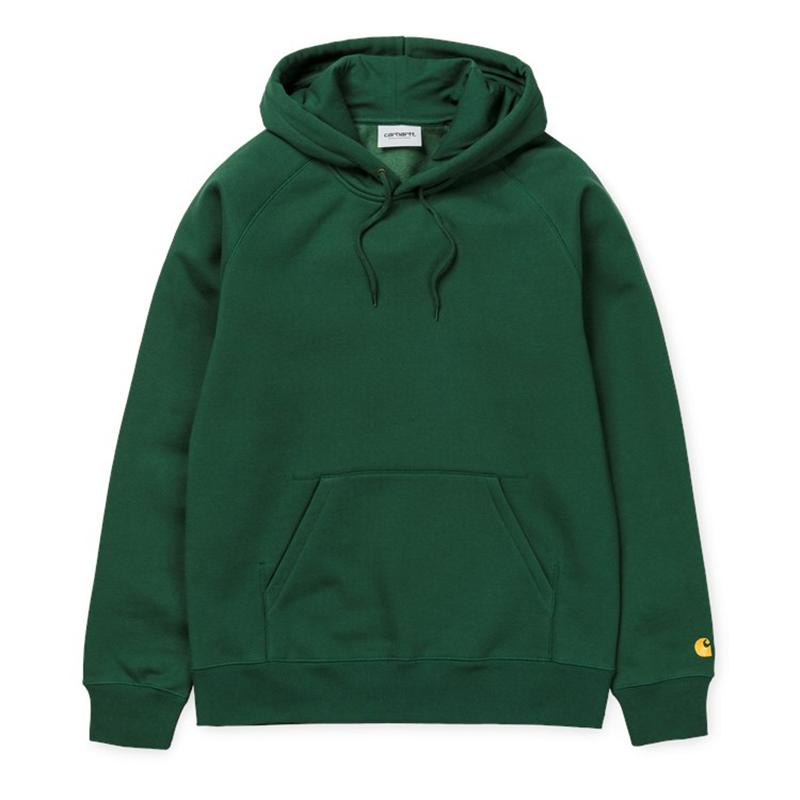 Carhartt Hooded Chase Sweater Fir/Gold
