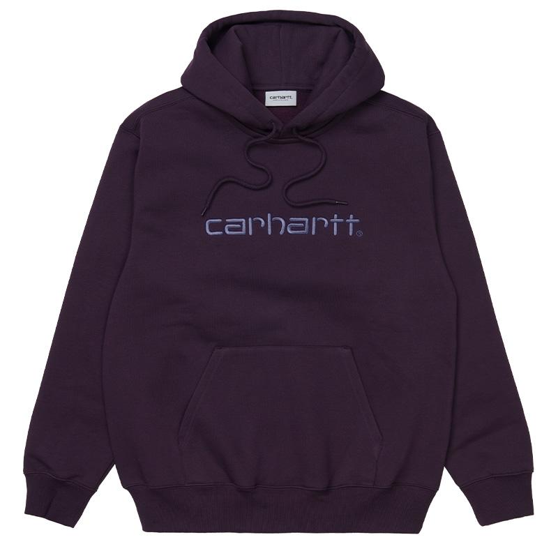 Carhartt WIP Hoodie Dark Iris/Cold Viola
