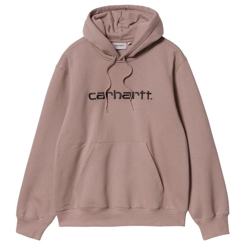 Carhartt WIP Hoodie Earthy Pink/Black