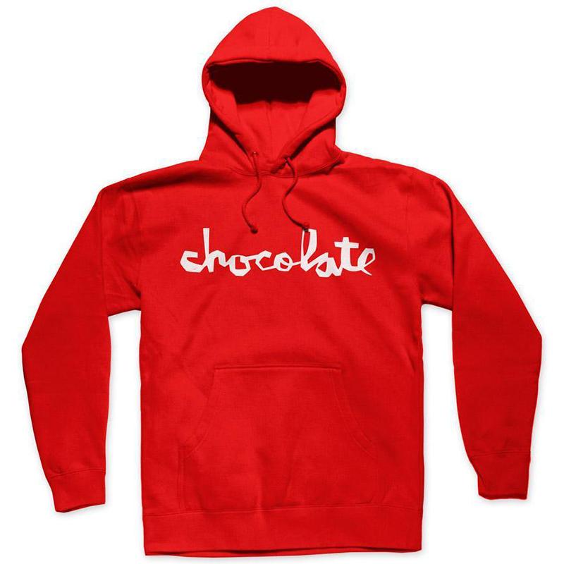 Chocolate Chunk Hoodie Red