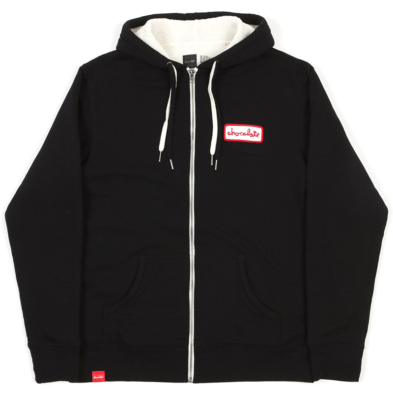 Chocolate Union Sherpa Hoodie Black
