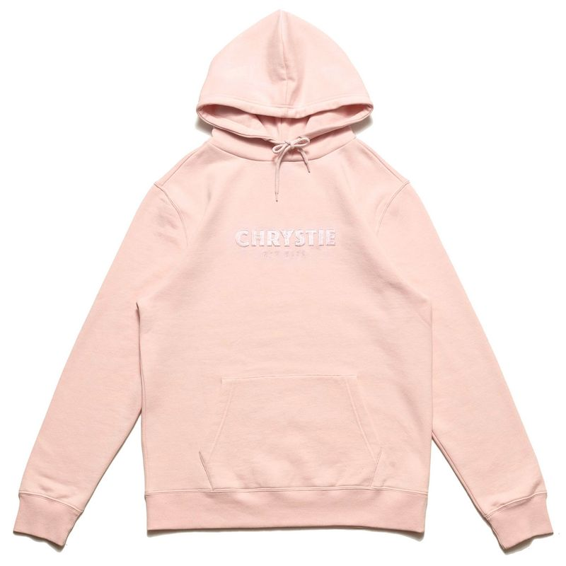 Chrystie NYC Og Logo Hoodie Apricot