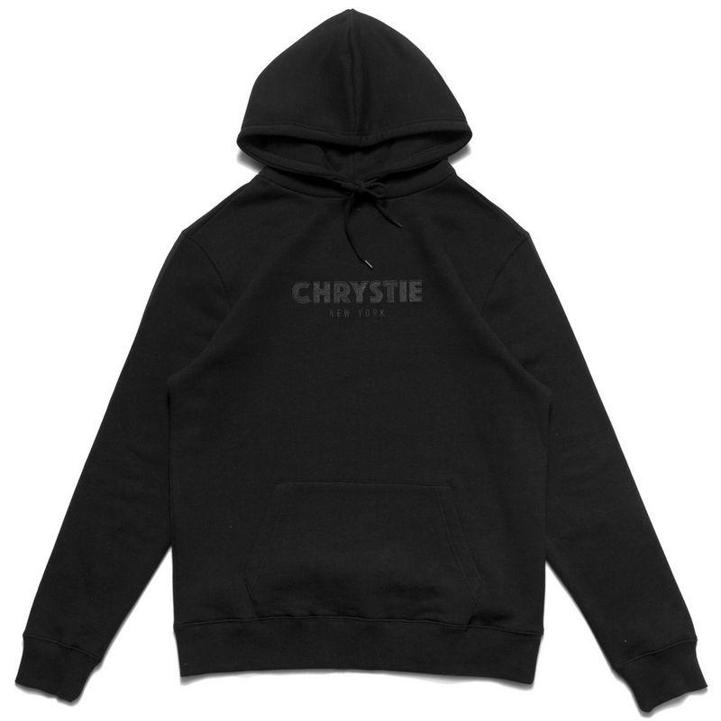 Chrystie NYC Og Logo Hoodie Black