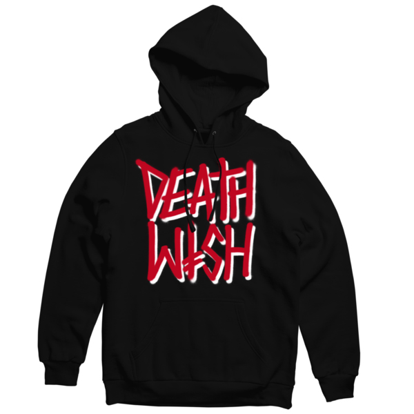 Deathwish Deathstack Hoodie Black/Red