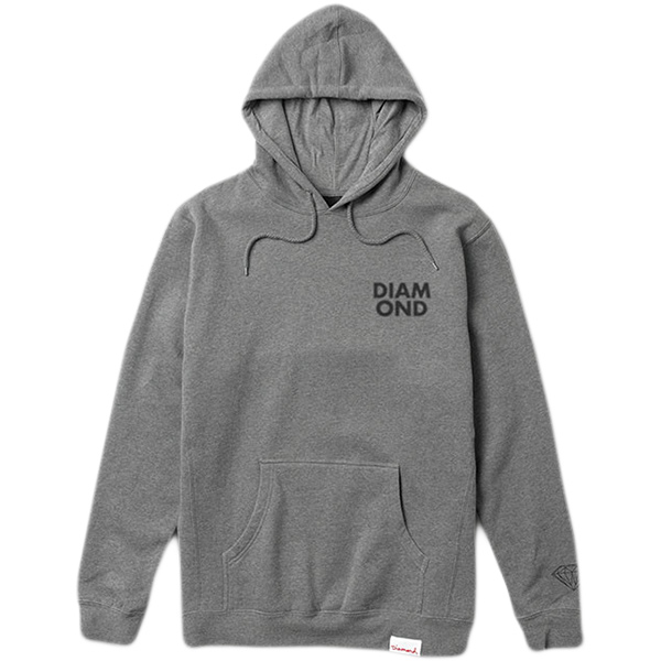 Diamond Blur Hoodie Gunmetal Heather