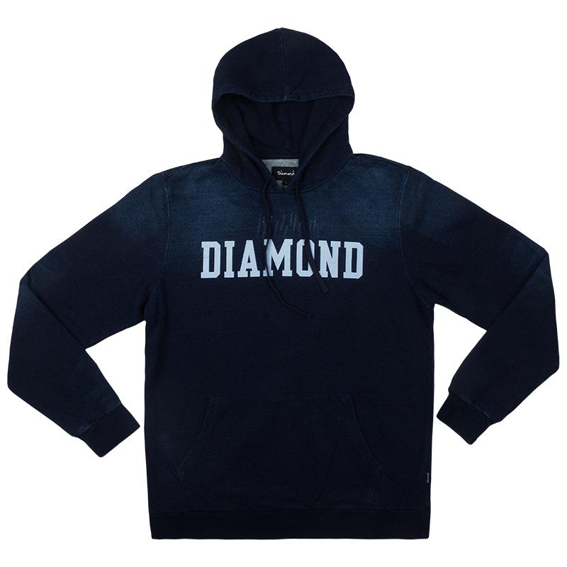 Diamond Drexel Hoodie Indigo