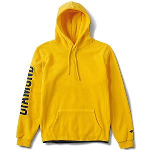 Diamond Polar Fleece Hoodie Yellow