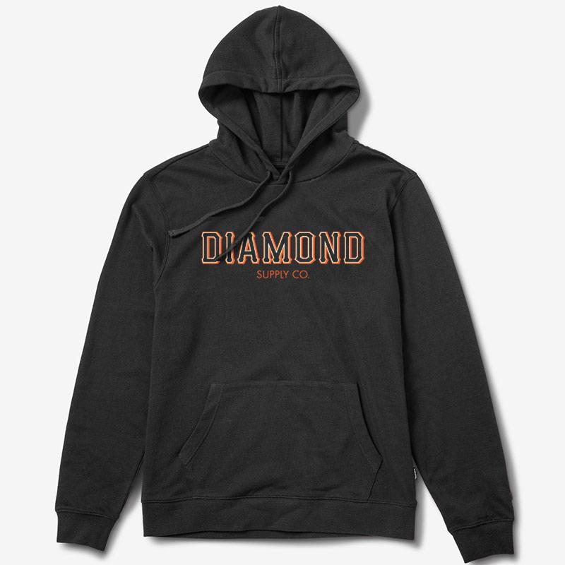 Diamond SF Hoodie Black