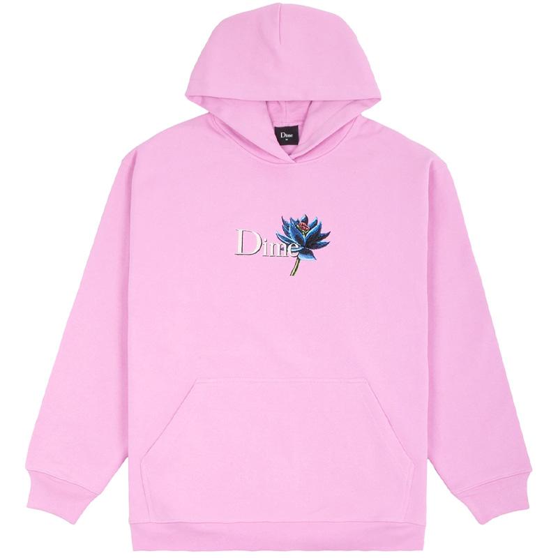 Dime Black Lotus Hoodie Light Pink