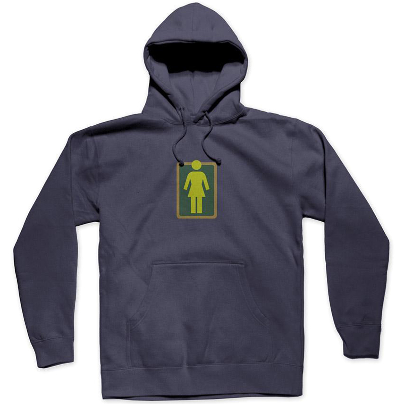 Girl Outside Hoodie Slate