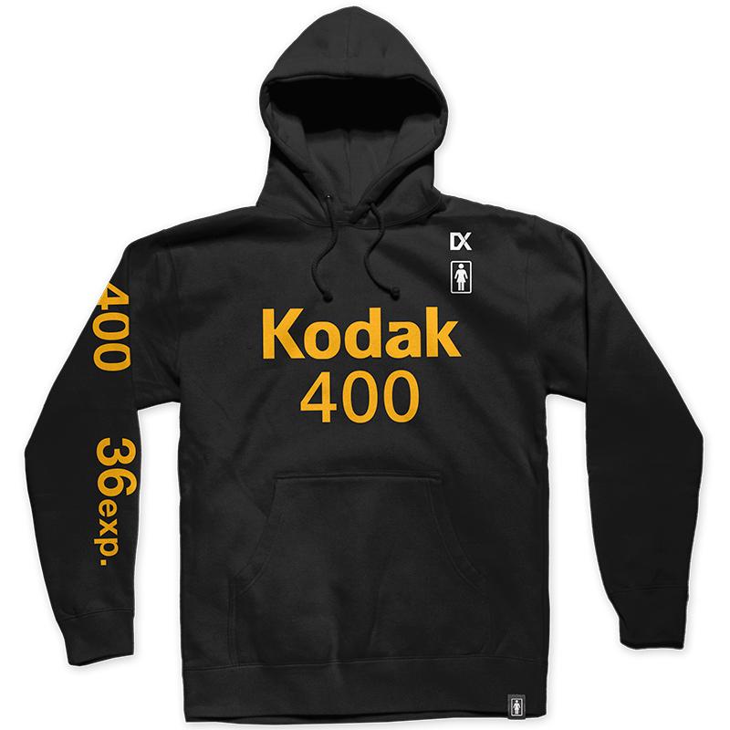 Girl x Kodak Gold 400 Hoodie Black