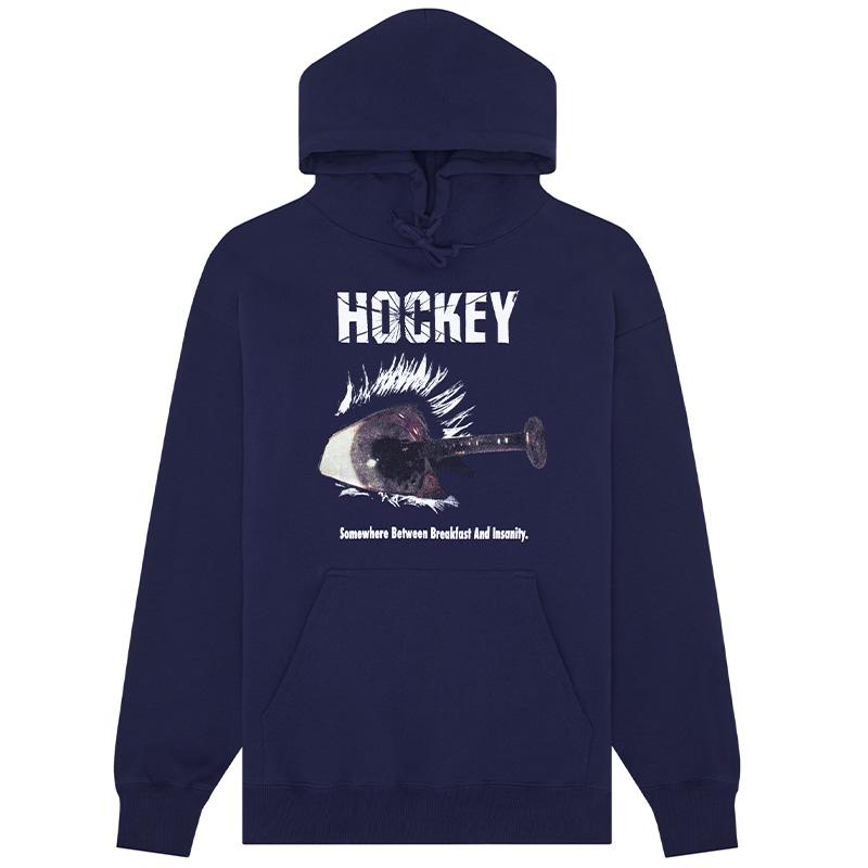 Hockey Breakfast Insanity Hoodie Navy