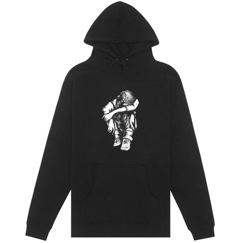 Hockey Missing Kid Hoodie Black