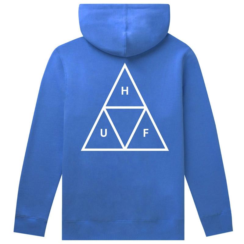HUF Essentials TT Hoodie Nebulas Blue