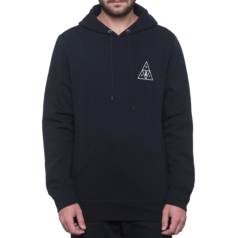 HUF Memorial Triangle Hoodie Black