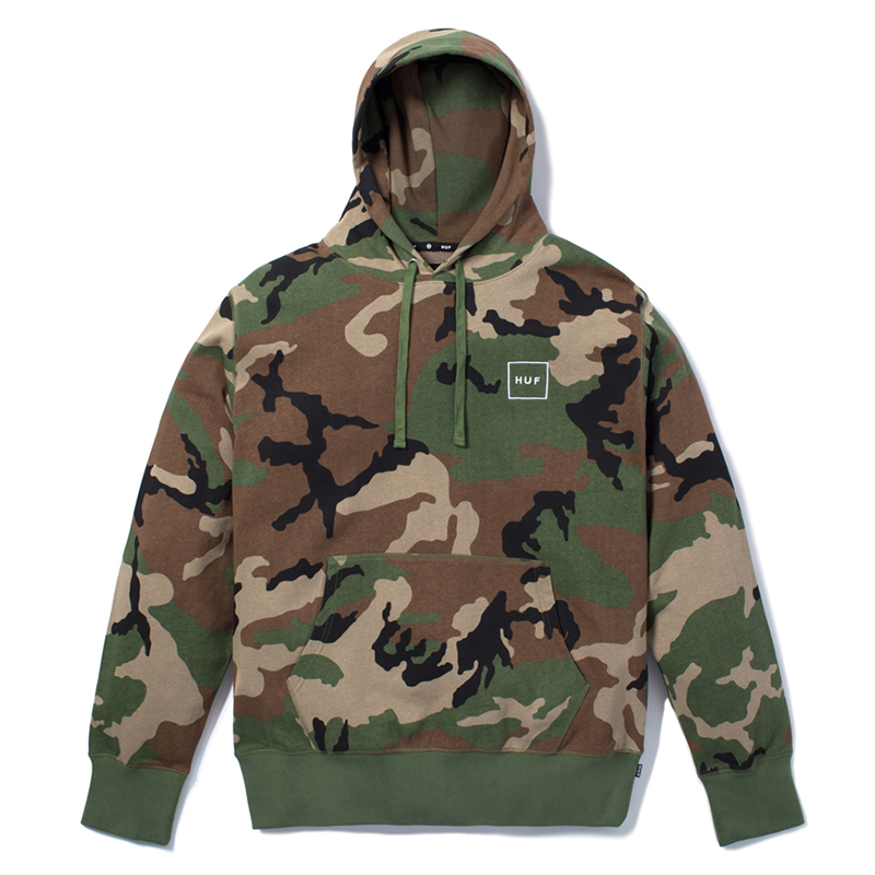 HUF Milton Pullover Hoodie Woodland