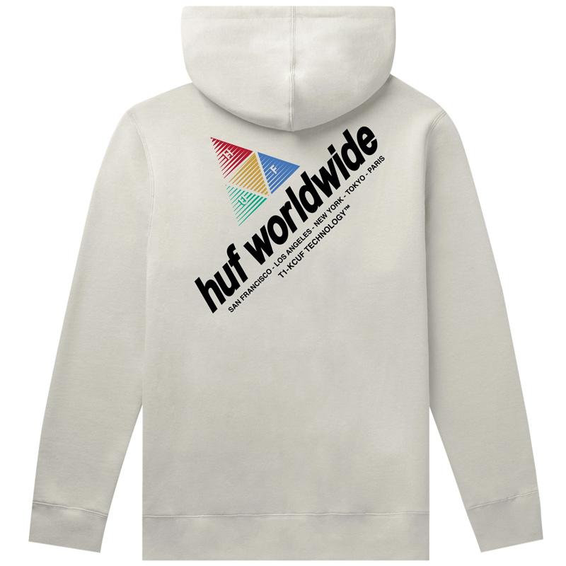 HUF Peak Sportif Hoodie Unbleached