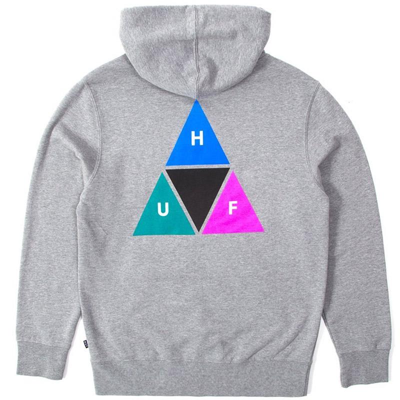 HUF Prism Hoodie Grey Heather