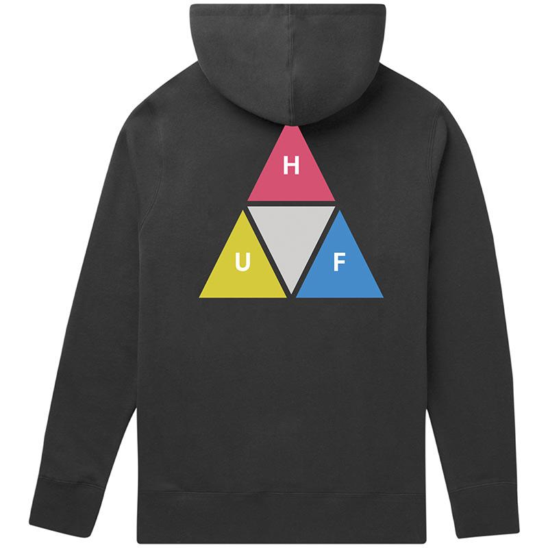 HUF Prism Trail Hoodie Black
