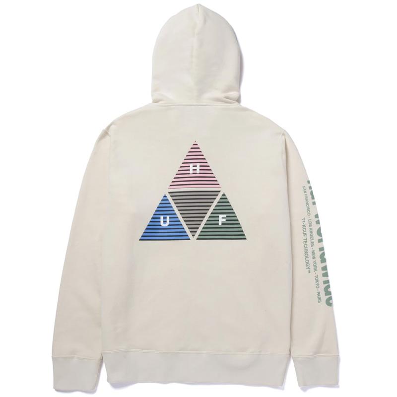 HUF Prism Tt Full Zip Hoodie Natural