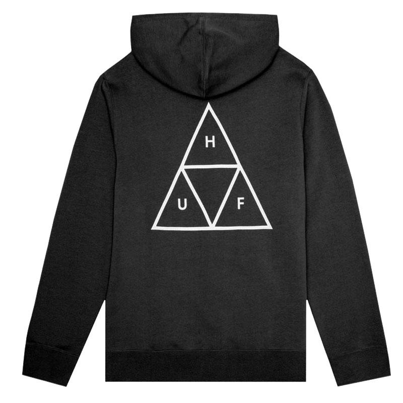 HUF Triple Triangle Hoodie Black