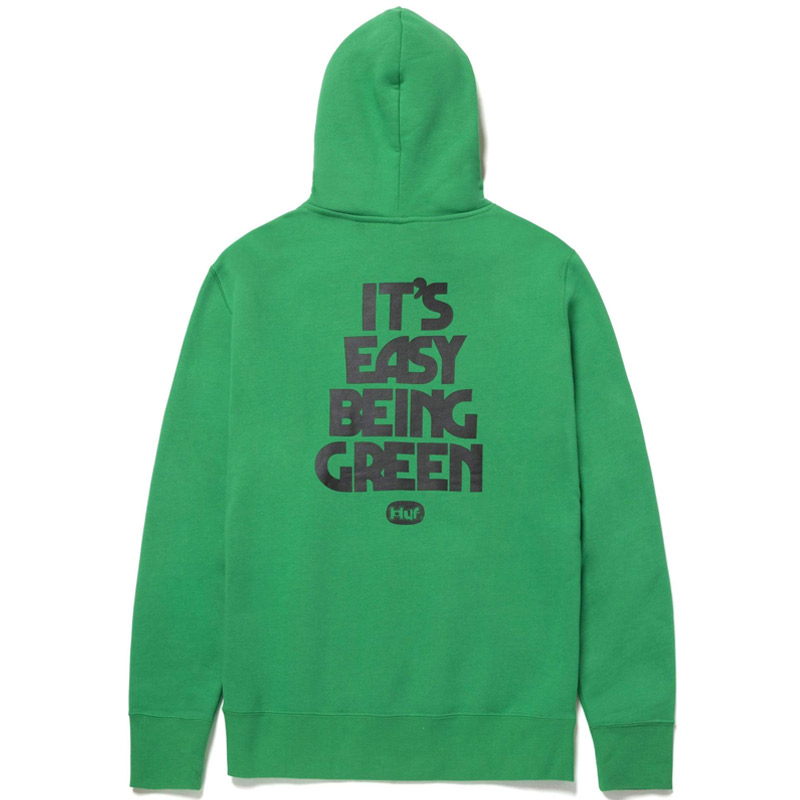 HUF X 420 Easy Green Hoodie Green