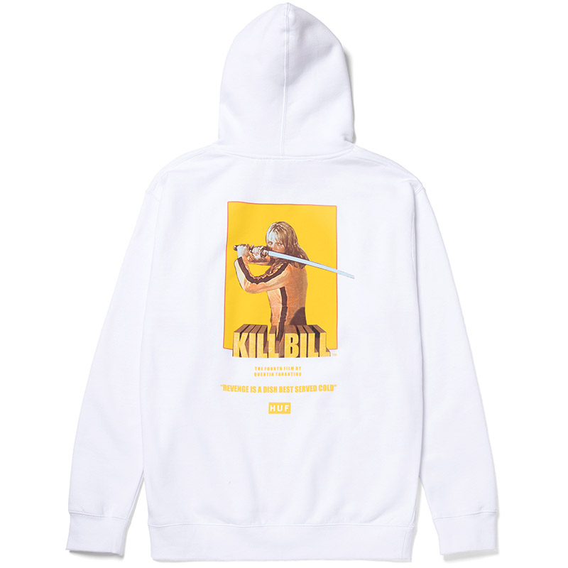 HUF X Kill Bill Bride Hoodie White