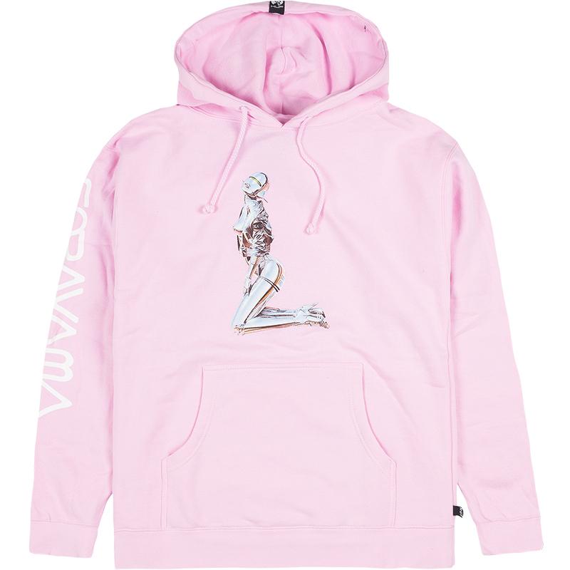 HUF X Sorayama Hoodie Pink