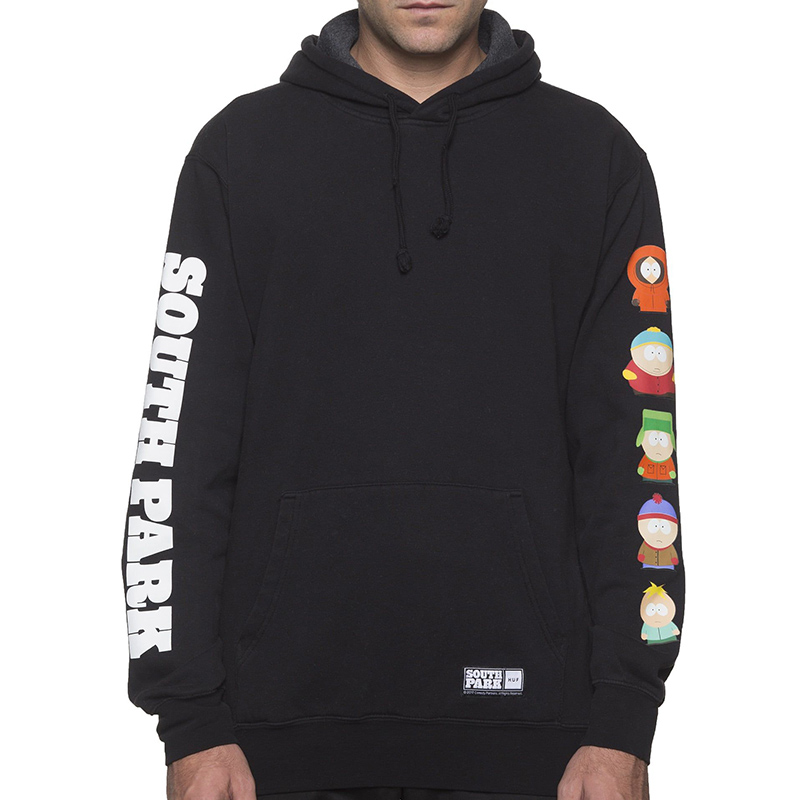 HUF X South Park Hoodie Black