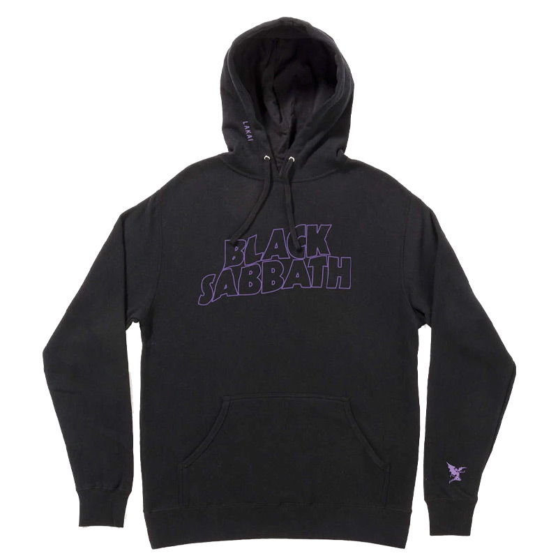 Lakai x Black Sabbath Master Of Reality Hoodie Black