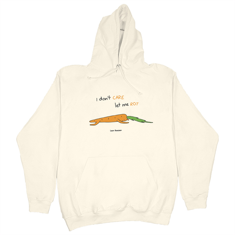 Leon Karssen Carrot Hoodie Cream