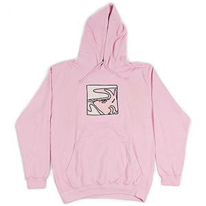 Leon Karssen Wobbly Hoodie Pink