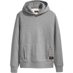 Levi´s Pullover Hoodie Heather Grey