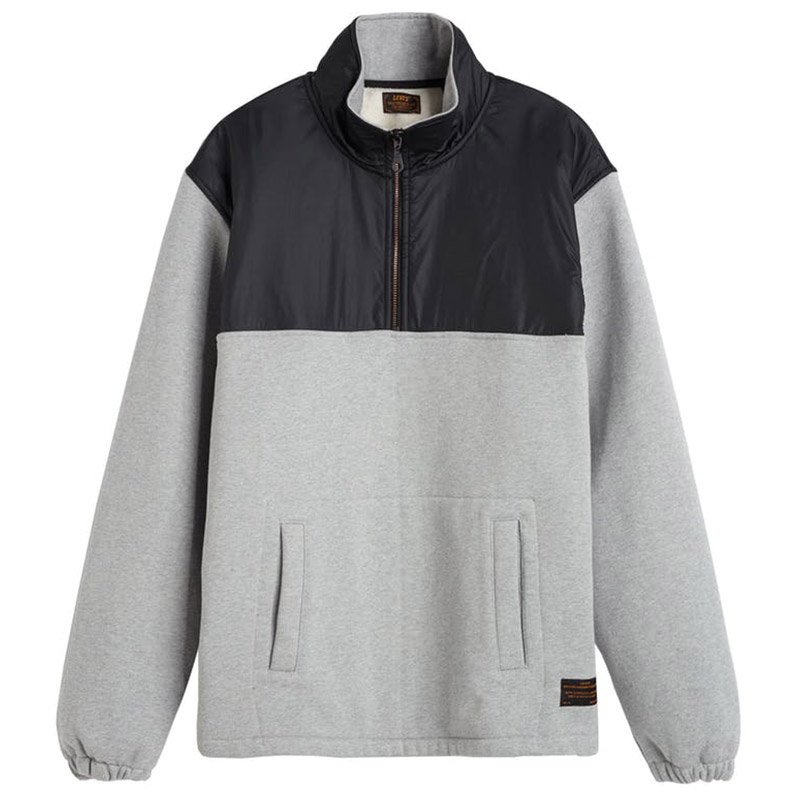 Levi's Skate Zip Up Hoodie Heather Grey