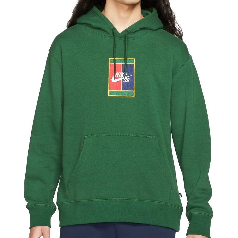 Nike SB Gfx Hoodie Gorge Green/Midnight Navy